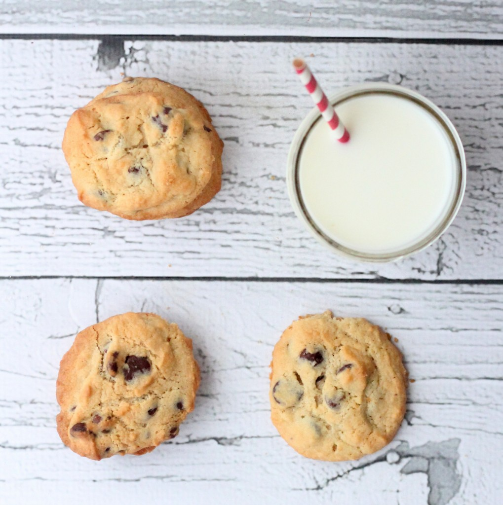 our favorite chocolate chip cookies recipe- these are perfection!