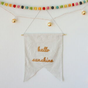 a super simple sewing project and a giveaway!