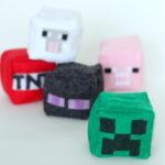 DIY last minute minecraft gifts