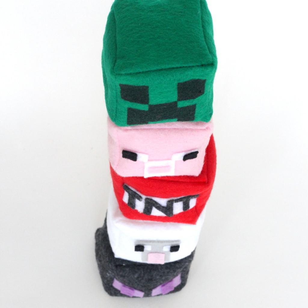 DIY last minute minecraft gifts