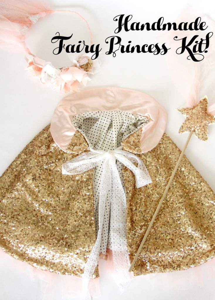 handmade fairy princess kit