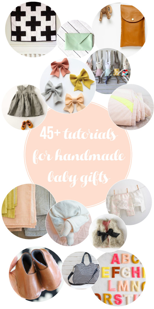 45+ handmade baby projects
