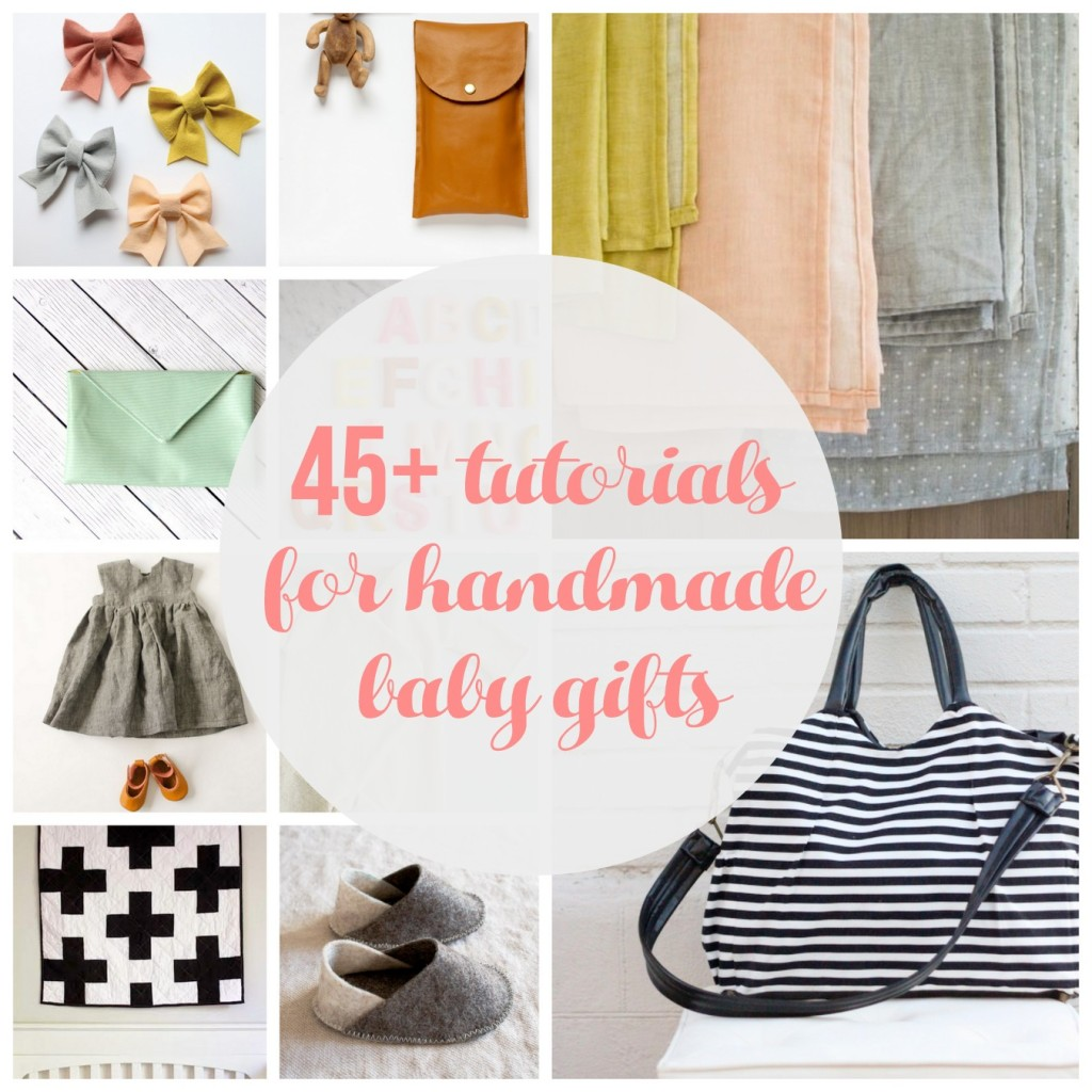 45+ handmade baby project tutorials