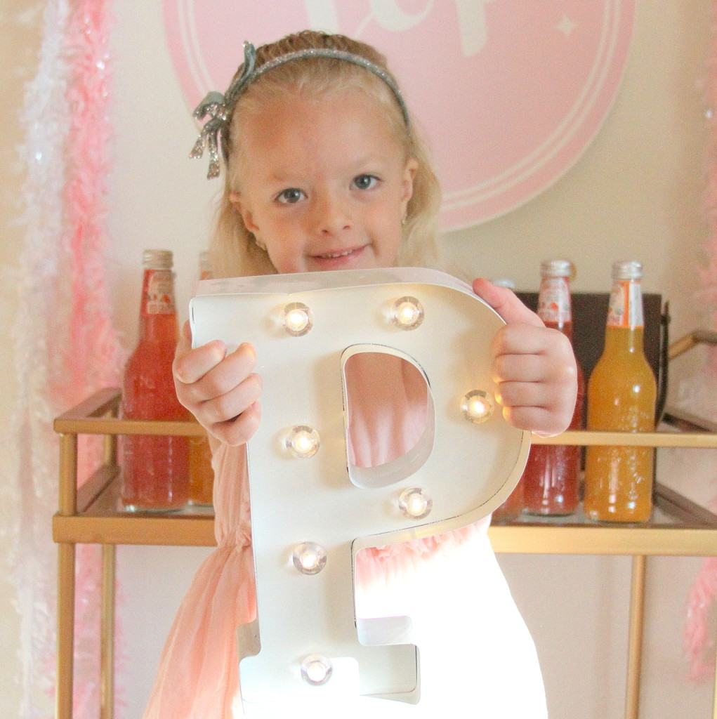 a party filled with pink and petals and princesses and ponies (lots of birthday party ideas!)