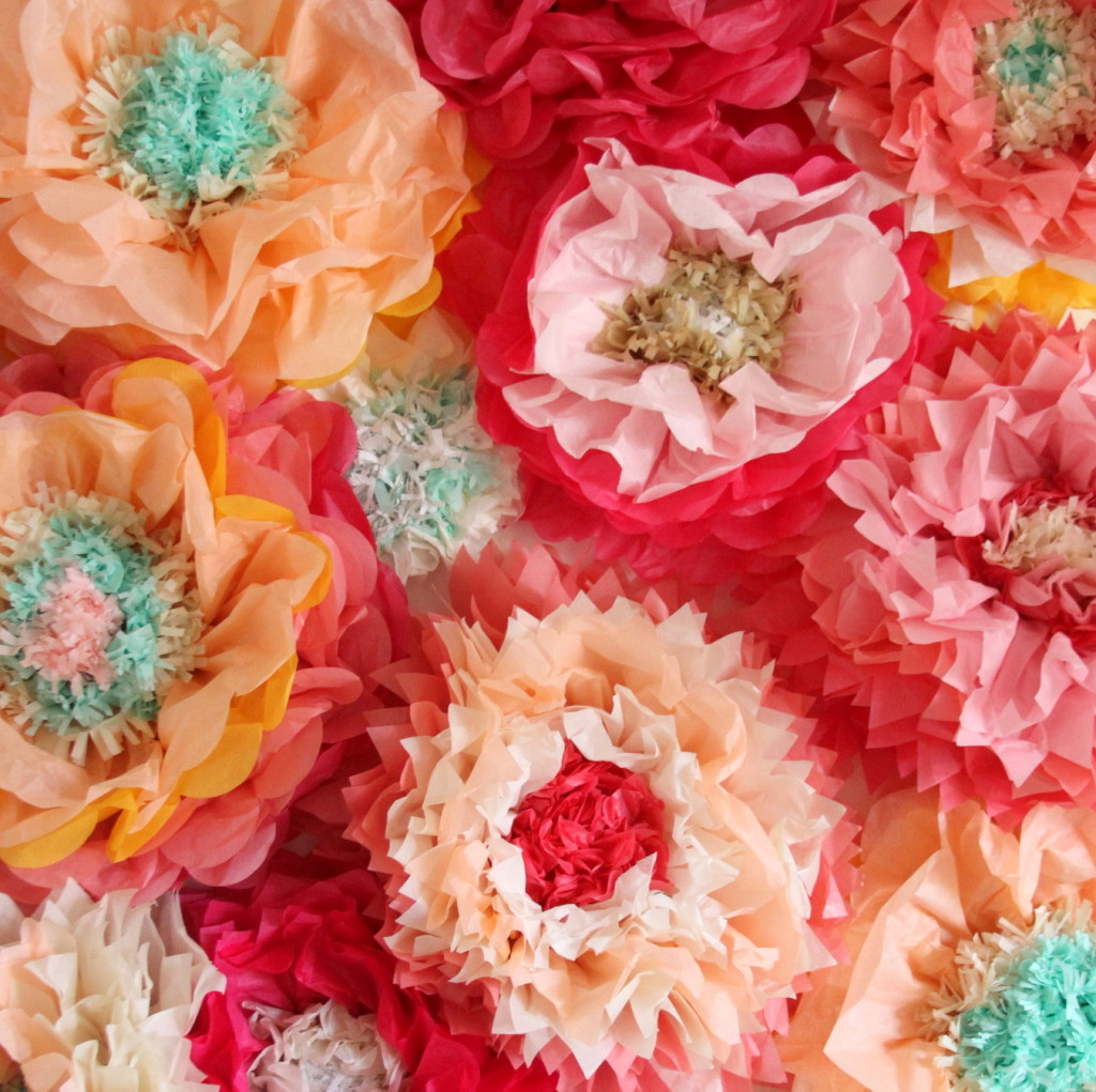 How To Make Paper Flowers The Easiest Ever 10 Minute Version