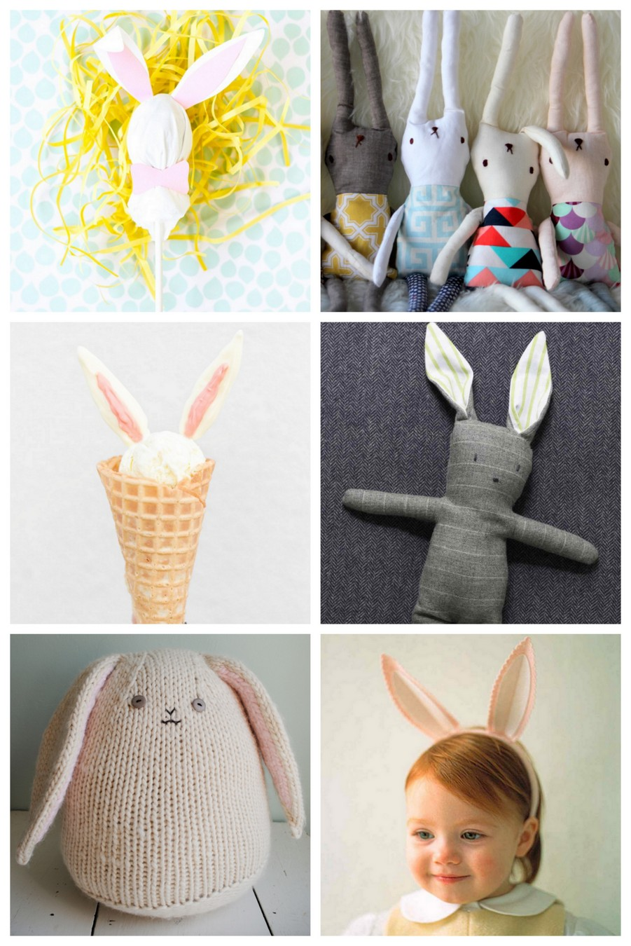 Get ready for easter baskets with these darling DIY bunny projects!