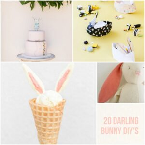 20 fabulous DIY bunny projects