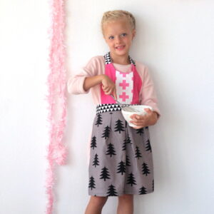 DIY kids apron