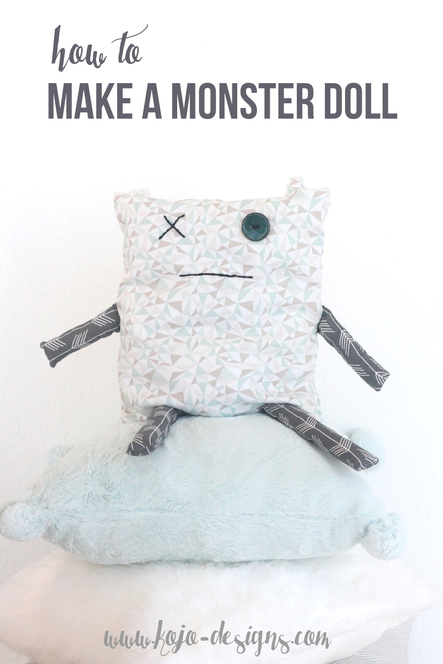 how to make a monster doll