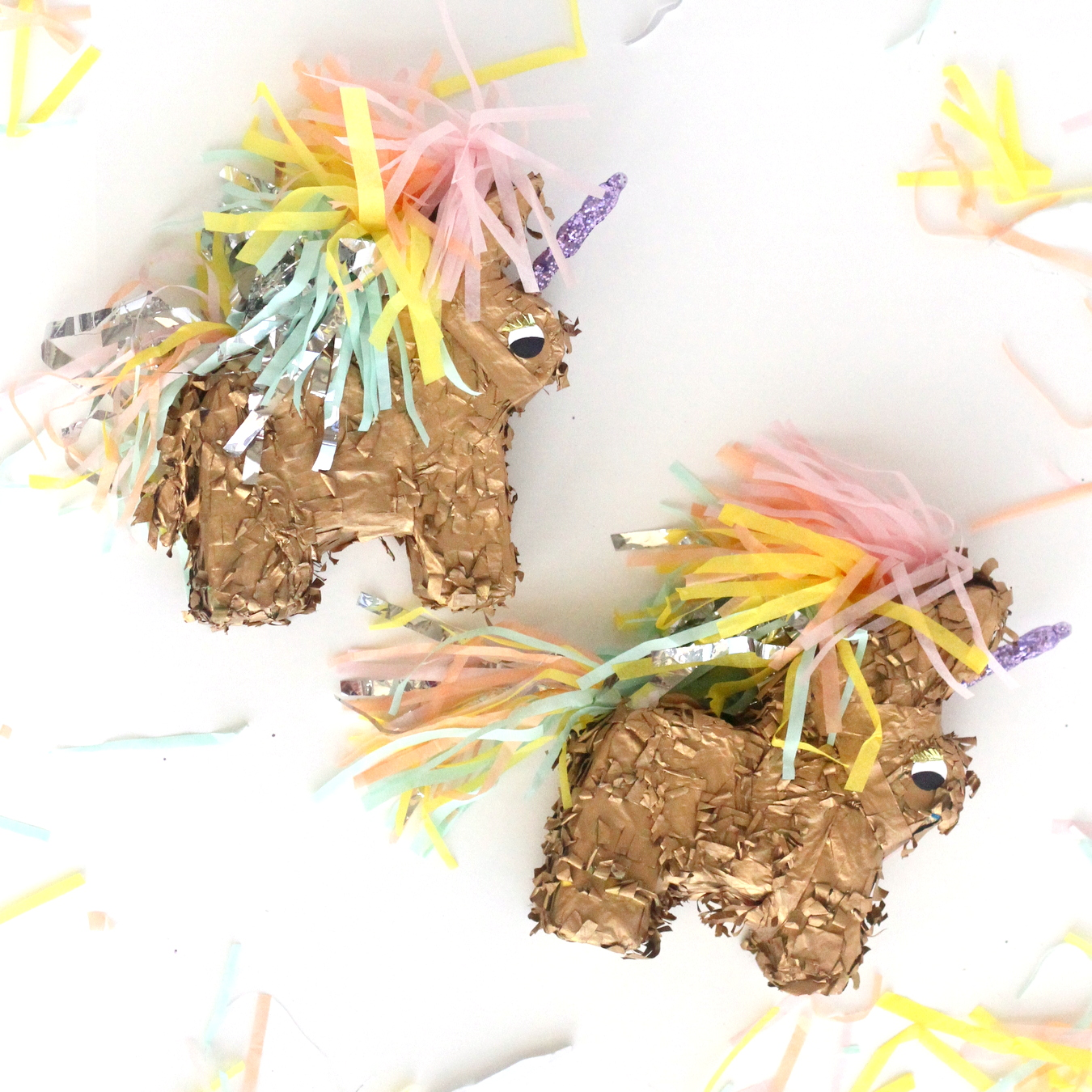 how to make a unicorn piñata