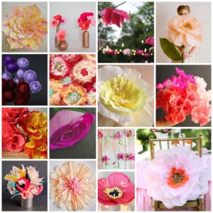 how to make paper flowers (the best paper flower tutorials!)
