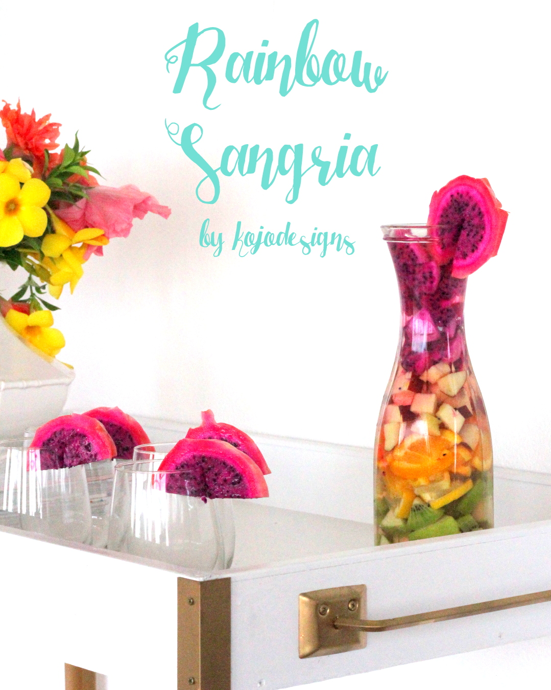 rainbow sangria recipe