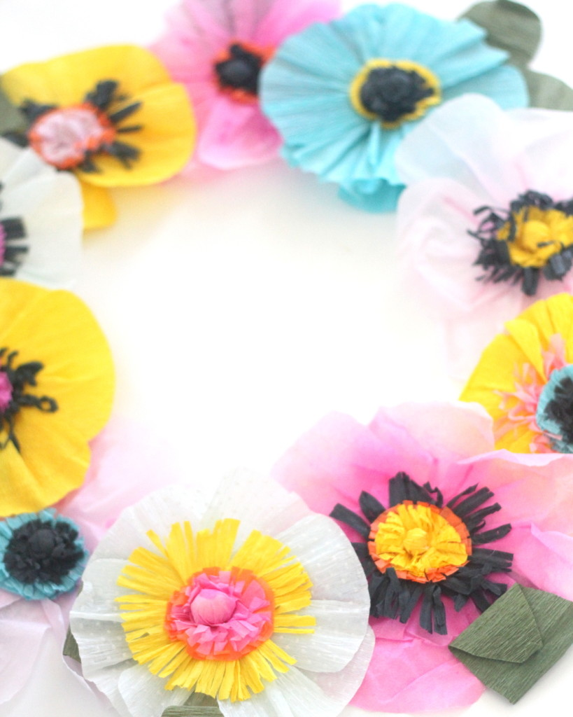 How to make paper flowers the easiest ever 10 minute version easiest ever crepe paper flowers each one takes about ten minutes or if dhlflorist Images