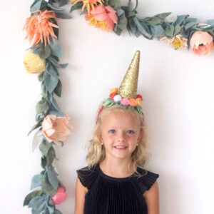 how to make a unicorn horn headband