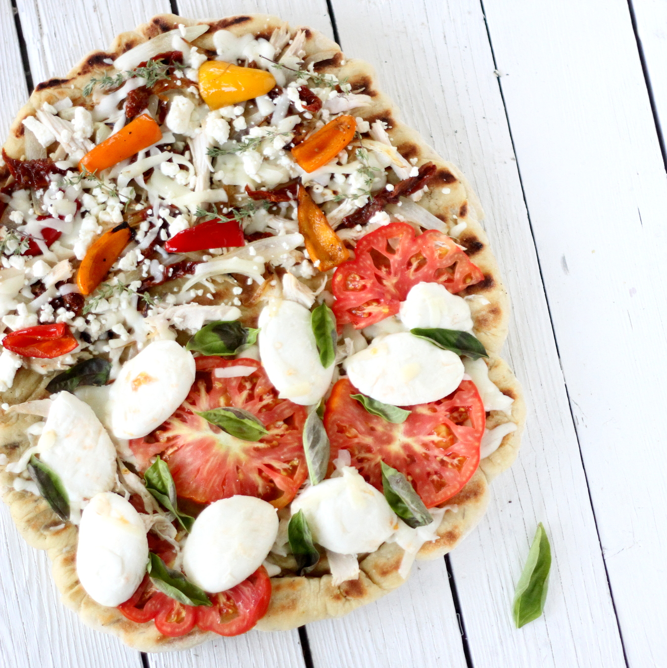 perfect grilled pizza (and our pizza crust recipe)