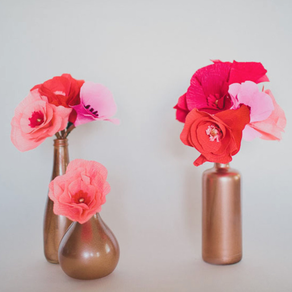 the prettiest paper flower tutorials