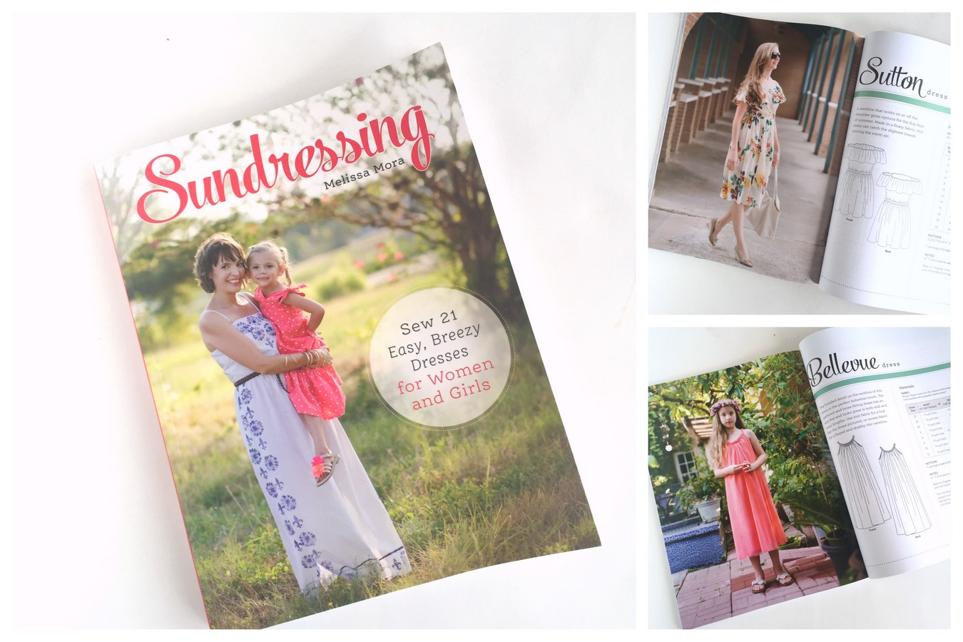 Sundressing book by Melissa Mora