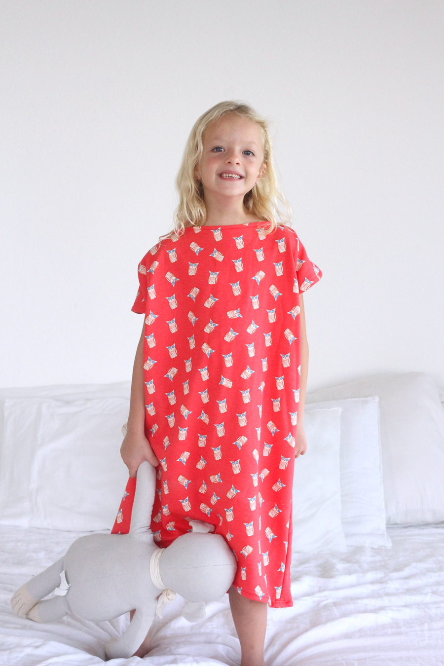 how to make the easiest ever nightgown