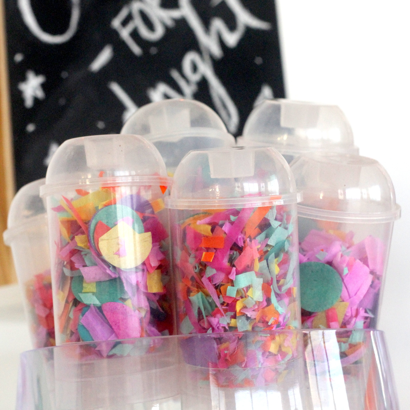 Easy New Year's Party ideas (and a confetti bar!)