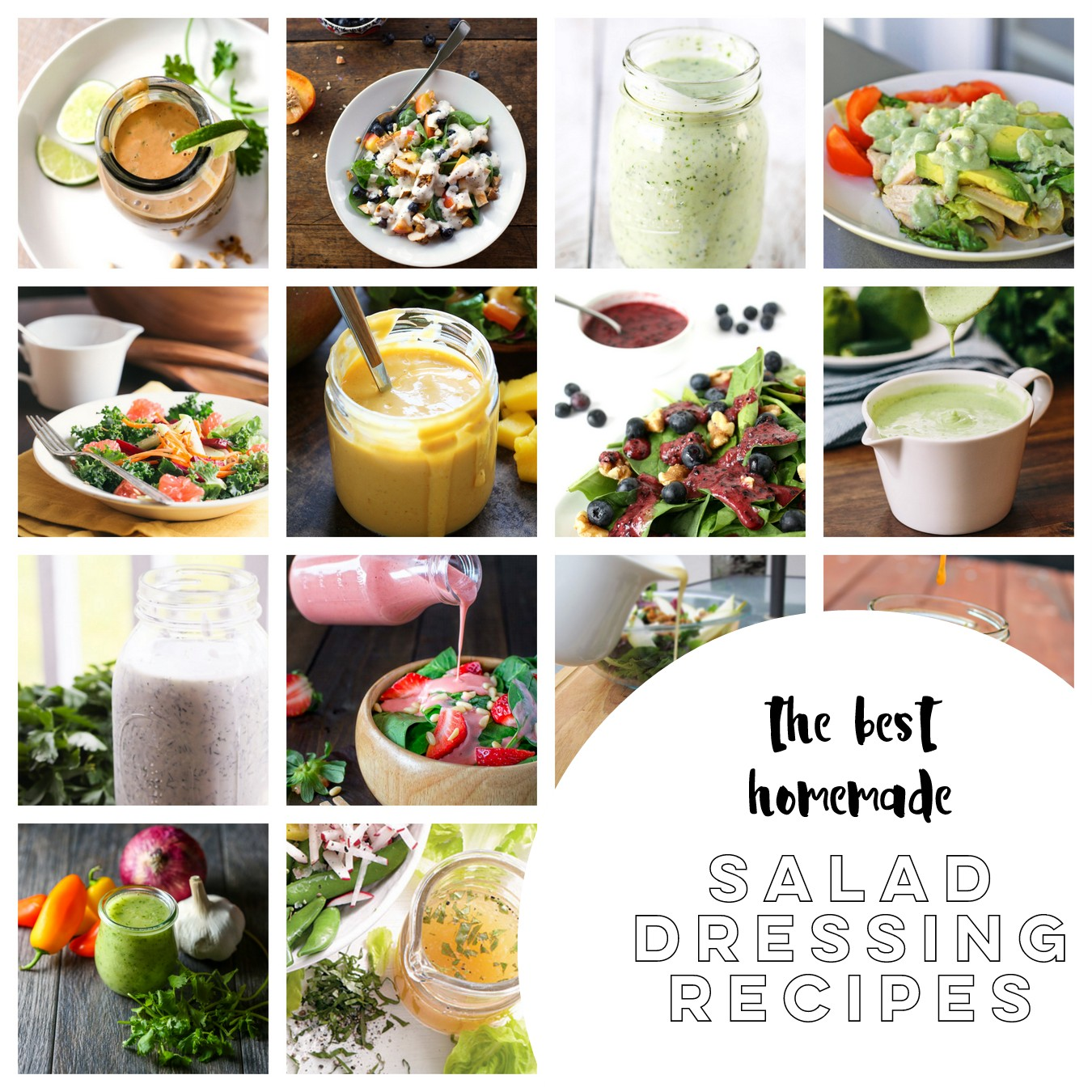 must-try homemade salad dressing recipes