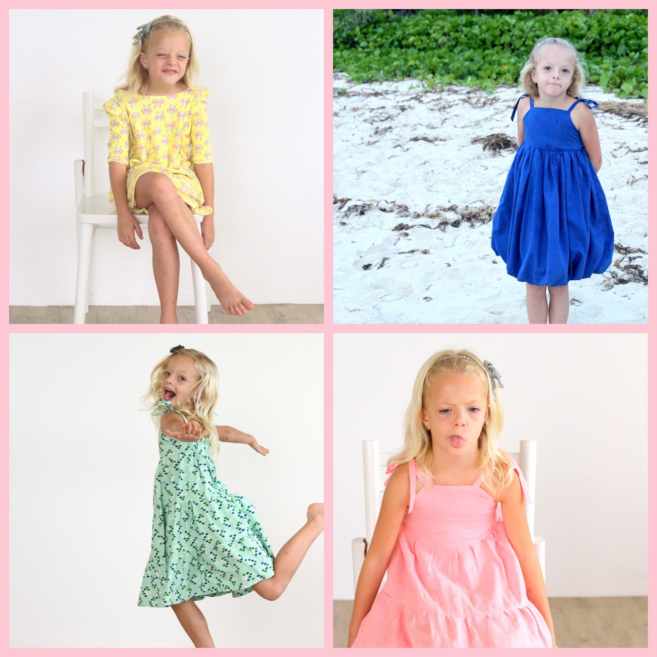 sewing for piper- a whole pile of dresses (and pattern recommendations)