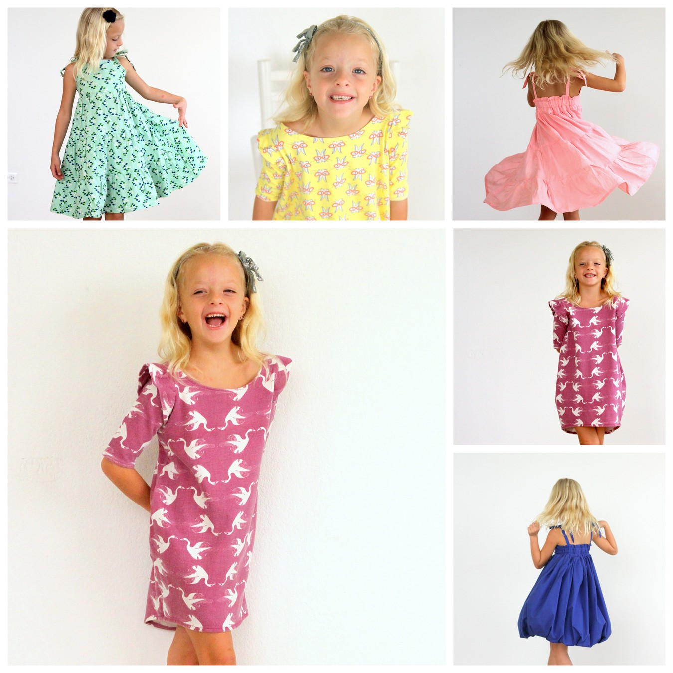 a pile of piper-dresses