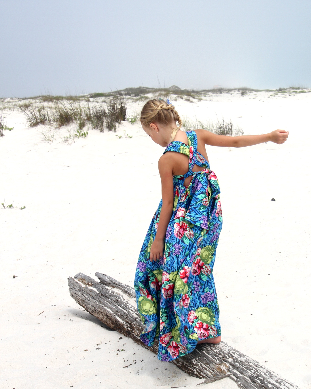 the sweetest summer dress- and some batch sewing tips