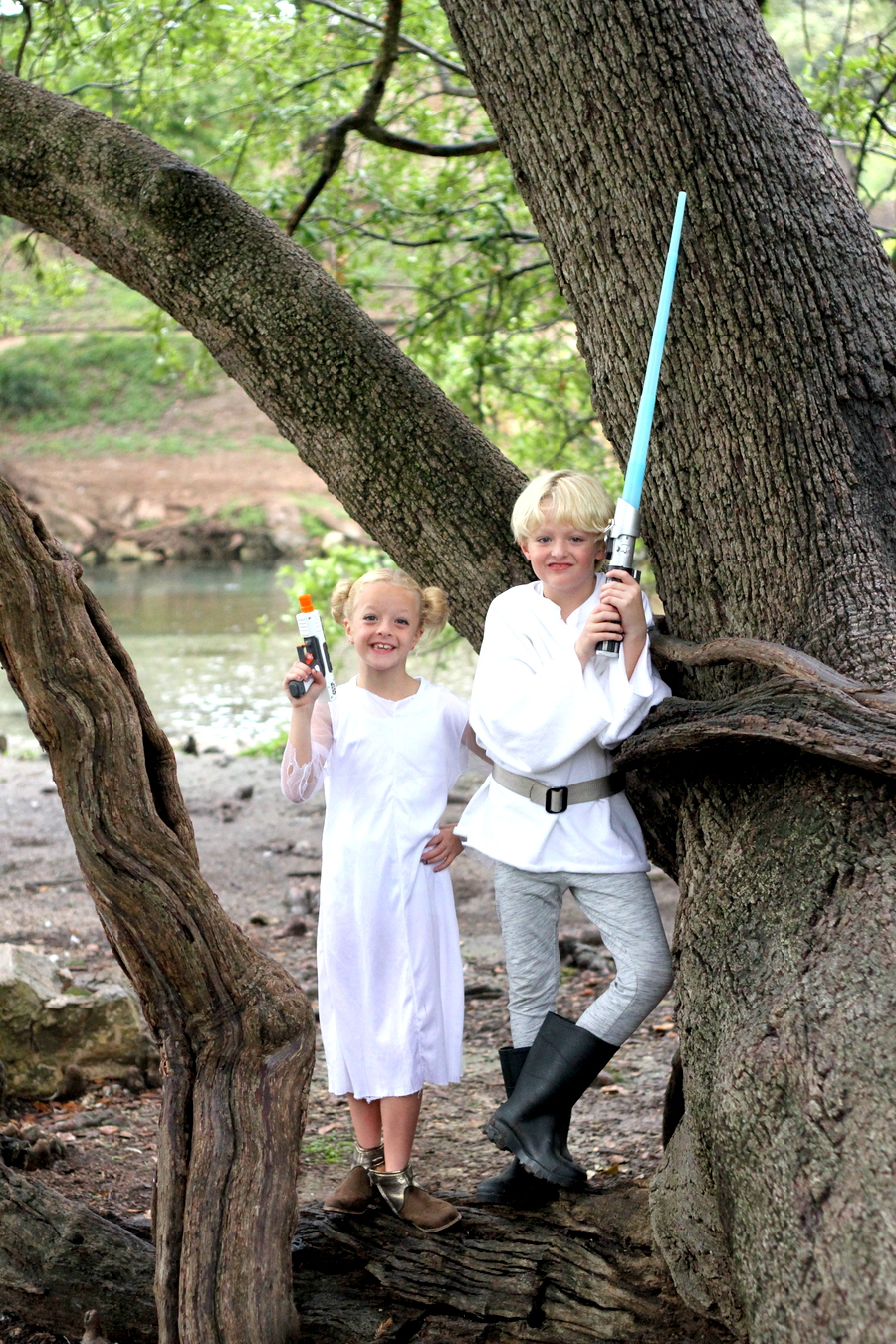easy no sew star wars costumes