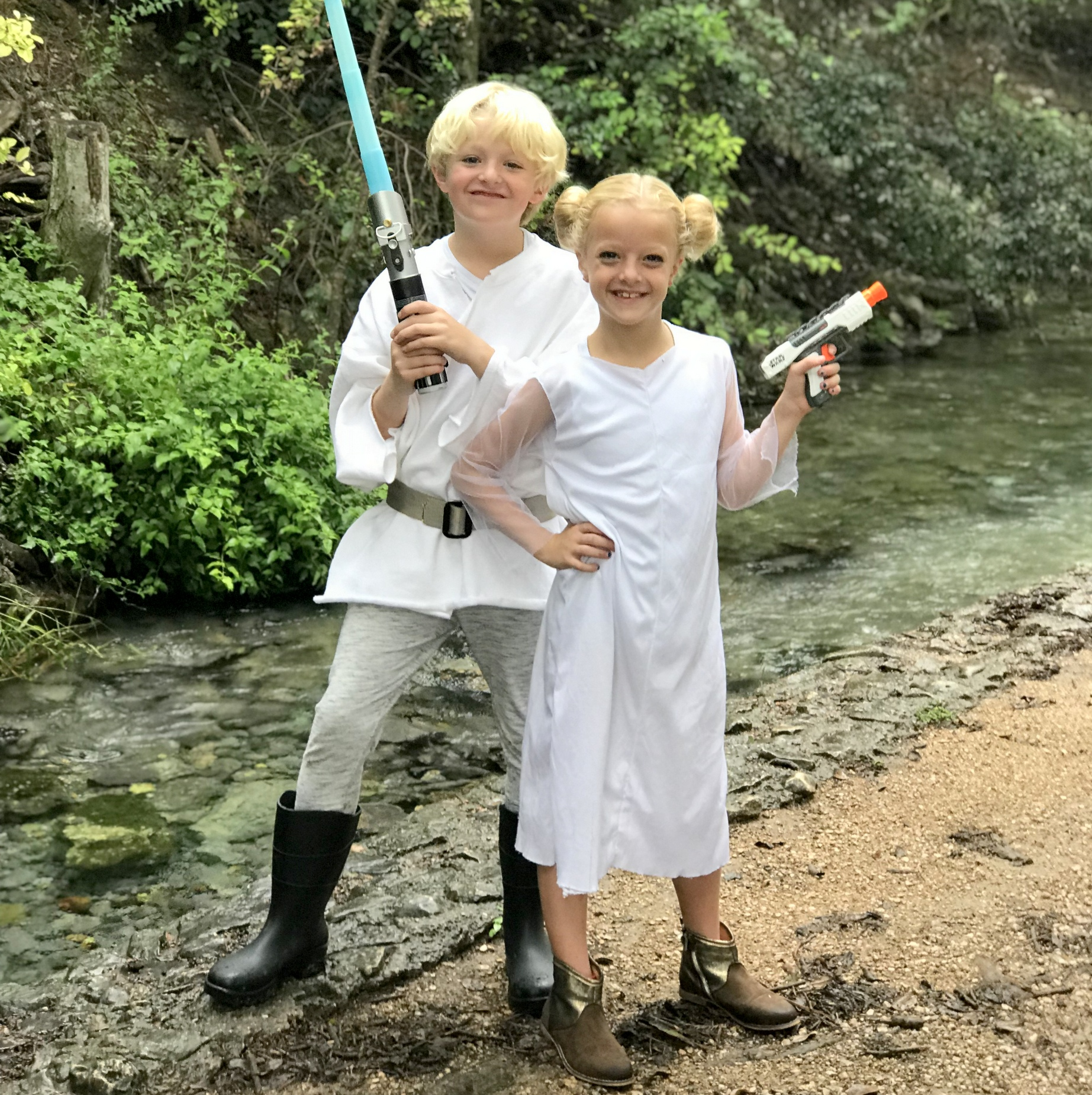 easy star wars costumes (DIY and no sew!)