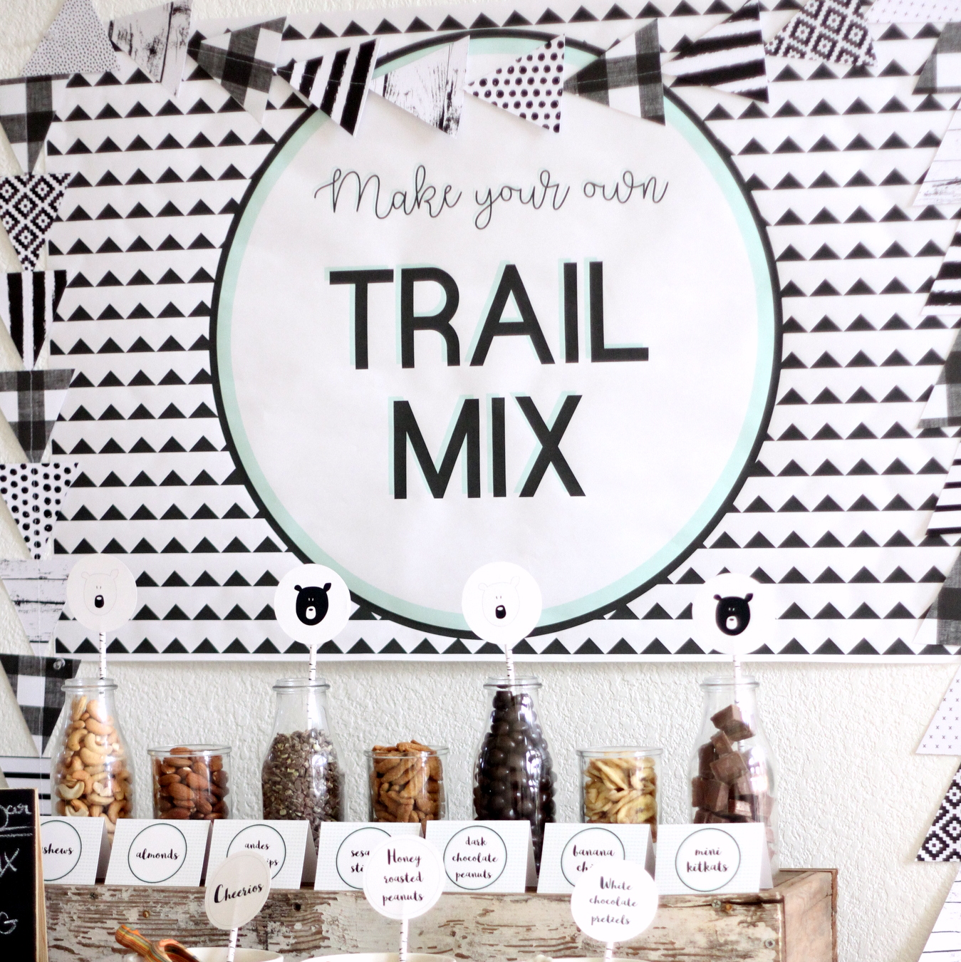 the best ingredients for a trail mix bar