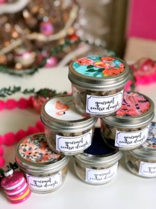 gourmet cookie dough recipe and edible Christmas gift ideas