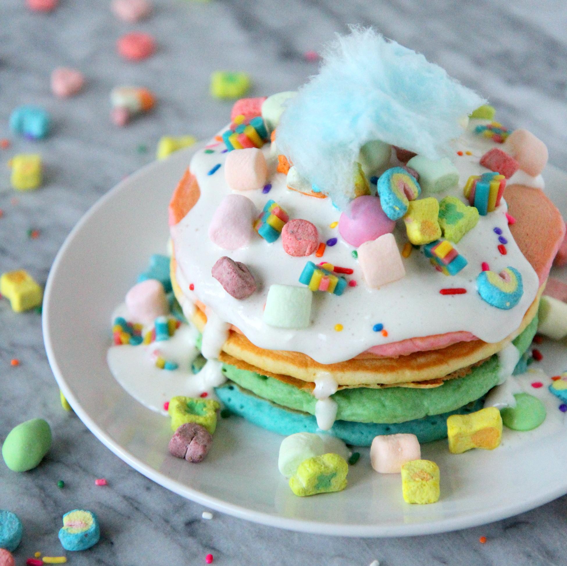 "celebration pancakes (""crazy cakes"")"