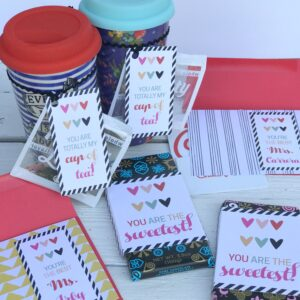 free teacher appreciation printables