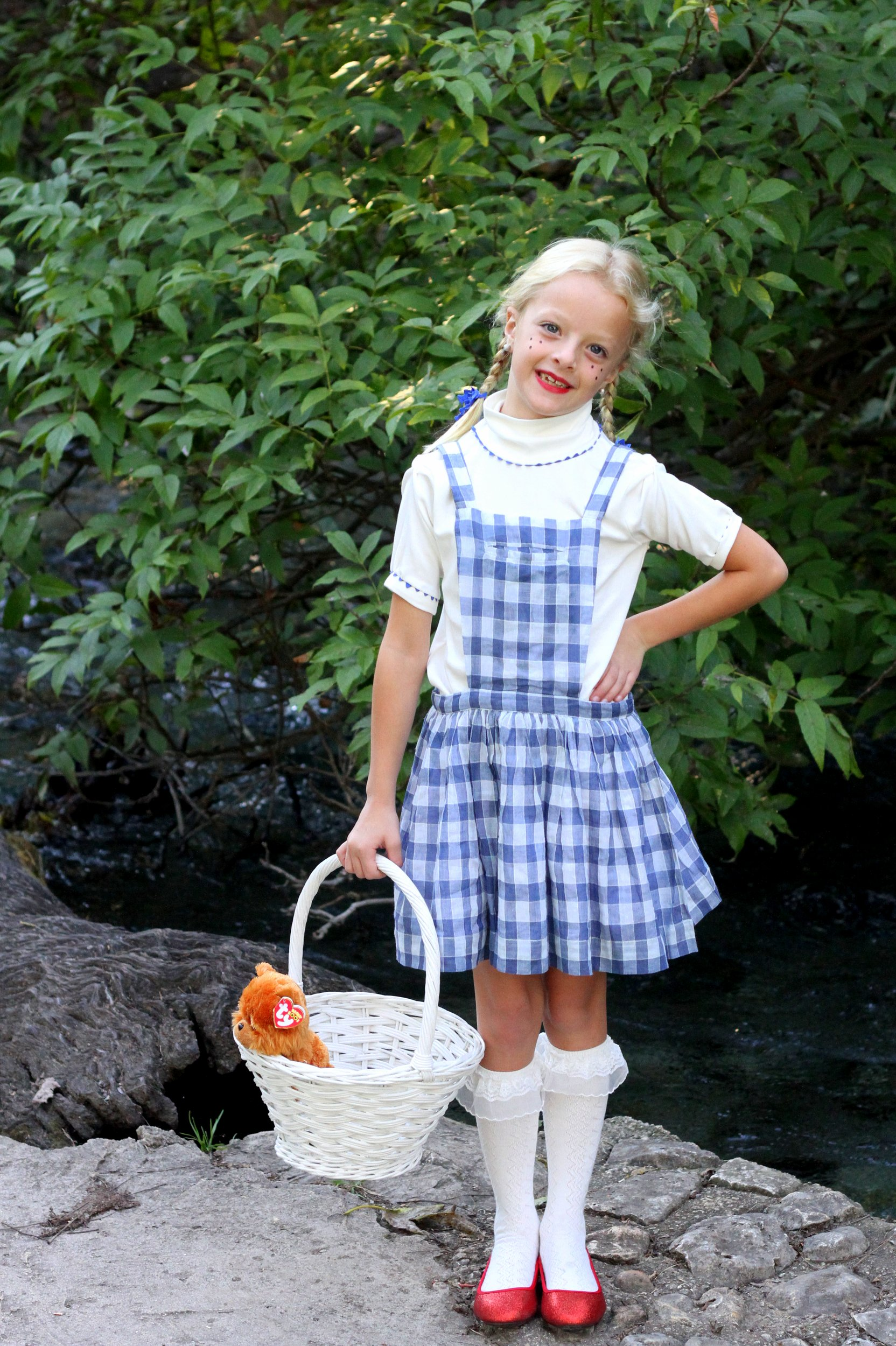Easy Wizard of Oz Halloween Costumes- Dorothy
