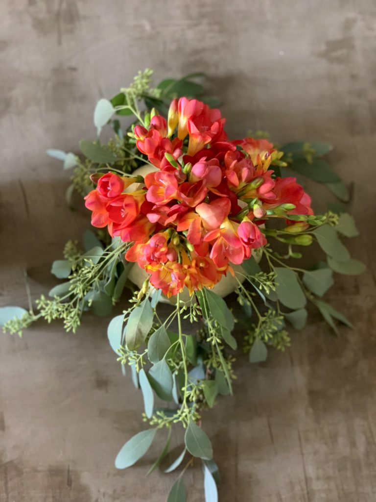 These DIY pumpkin vases are perfect for every fall fete!