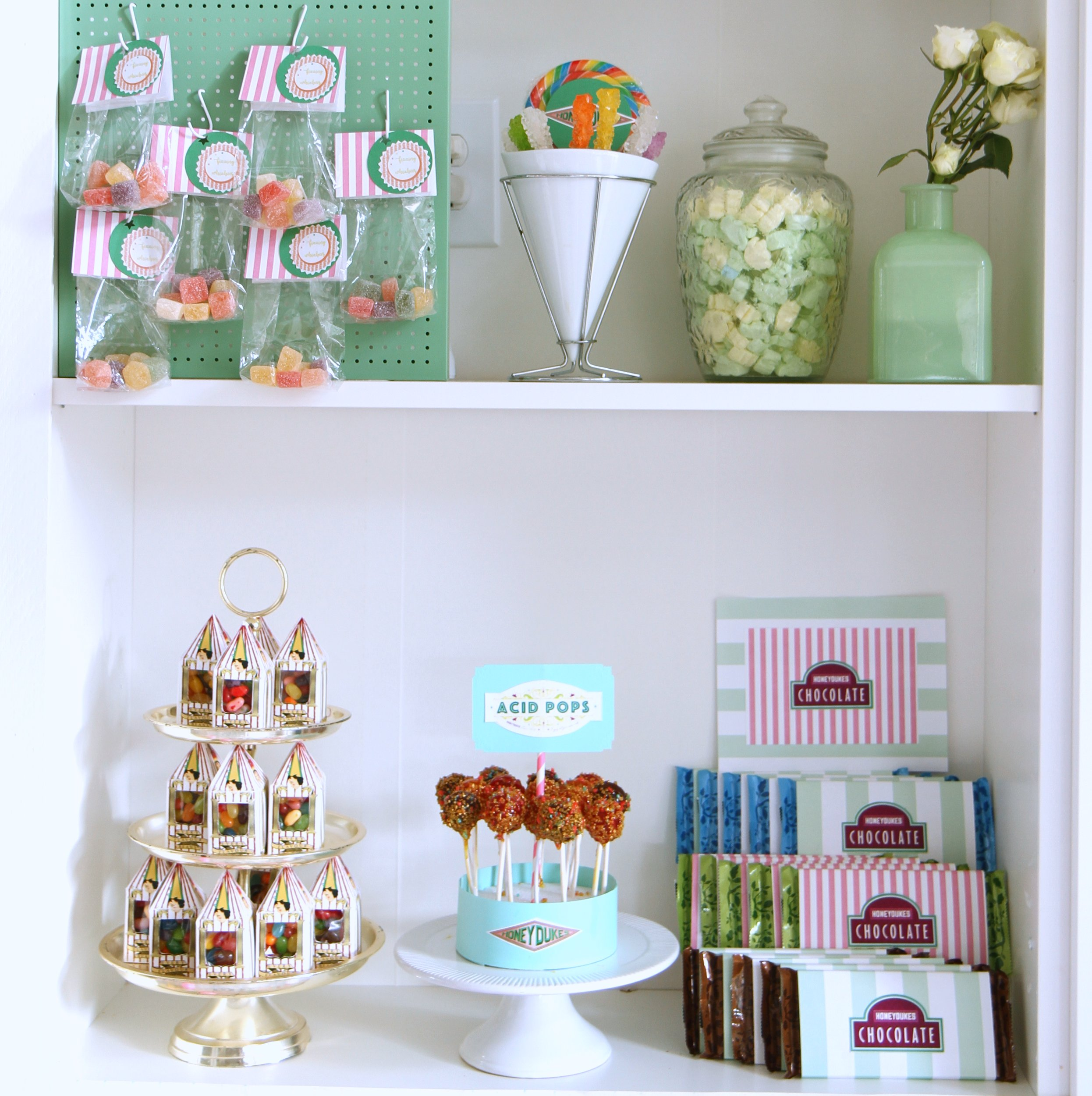 harry potter birthday party- honeydukes sweet shoppe