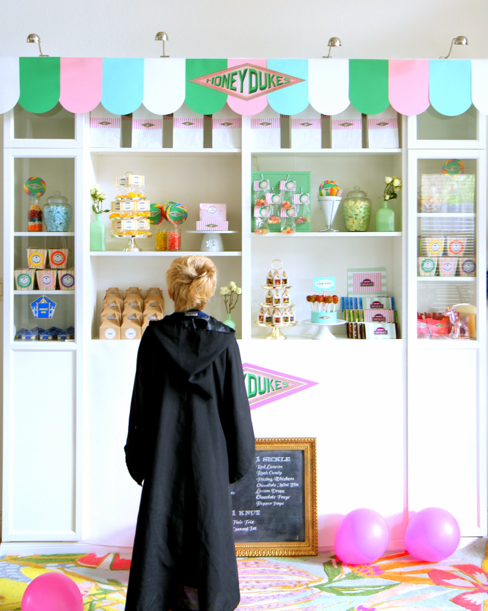 harry potter party mini honeydukes