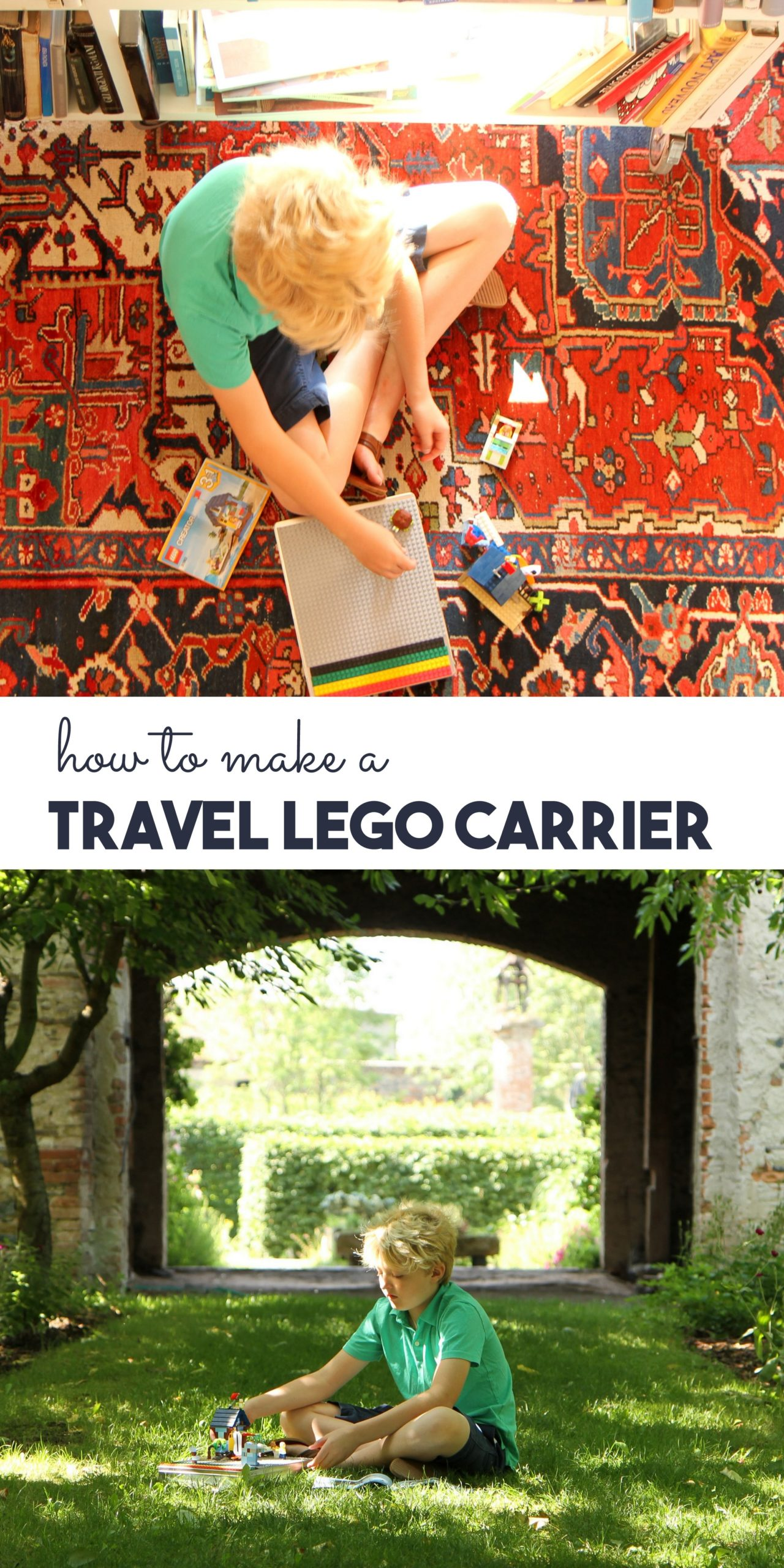how to make a travel lego carrier