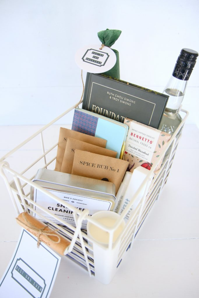 father's day gift basket and gift ideas