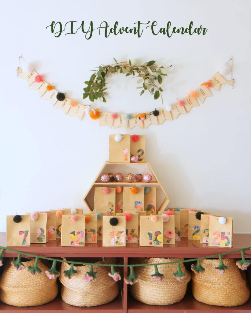 DIY kindness Christmas advent calendar (free printables)