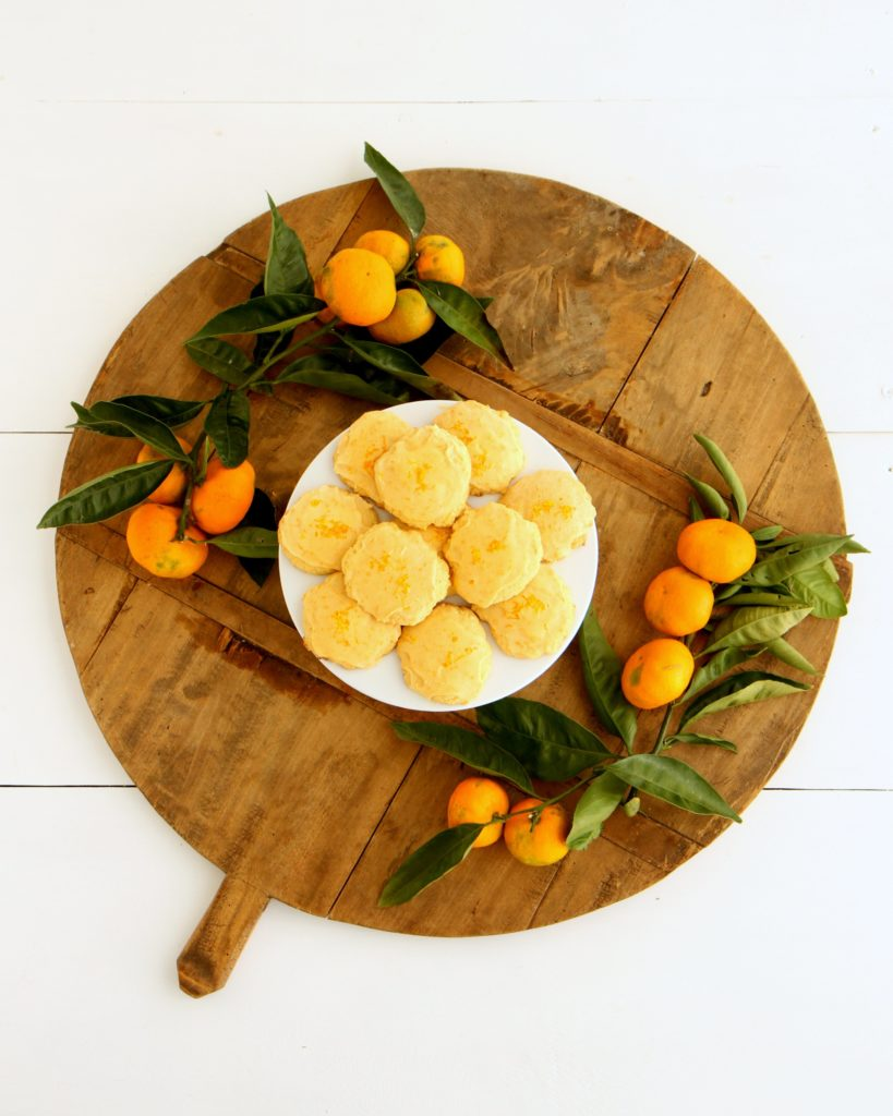 orange drop cookies (a not-chocolate cookie exchange option!)