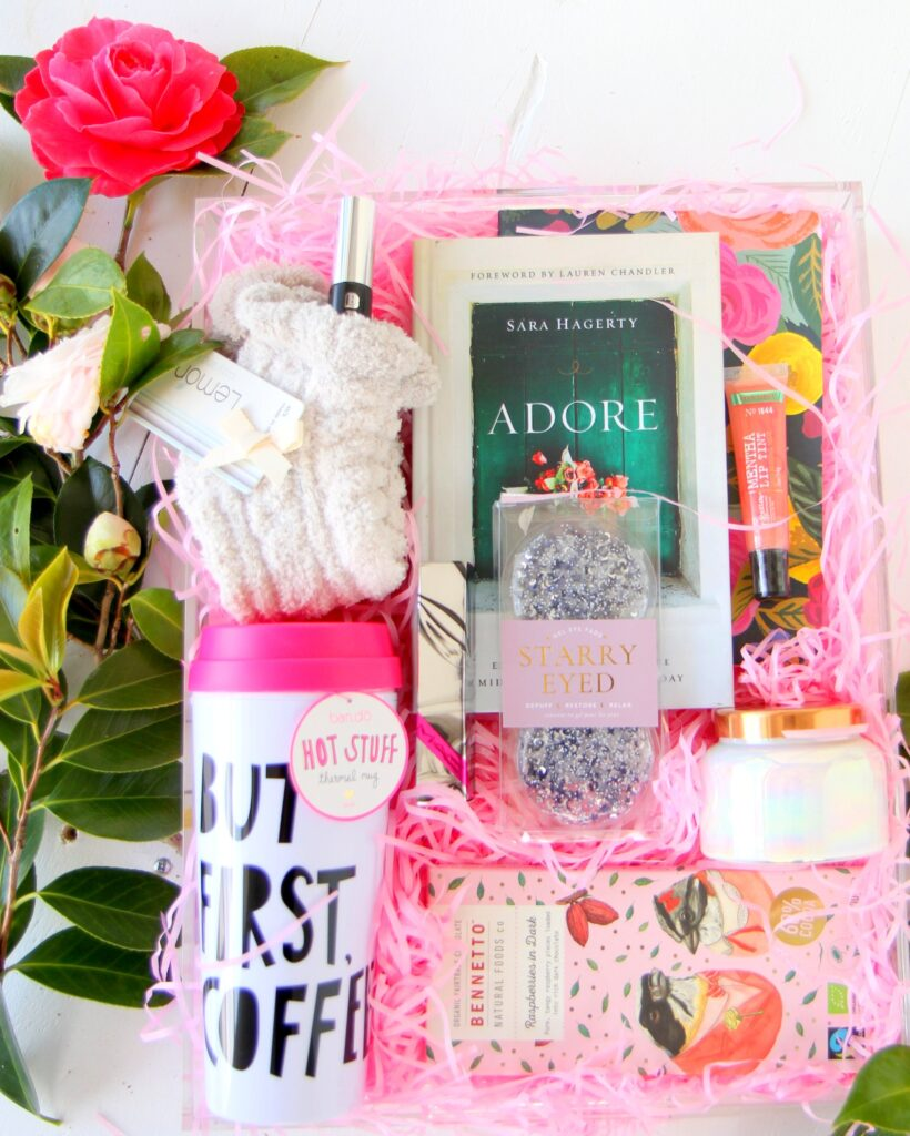 how to put together the BEST favorite things gift basket
