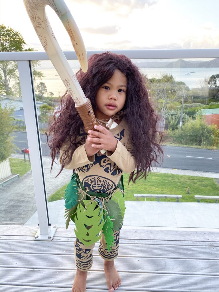 DIY moana Halloween costumes- Maui