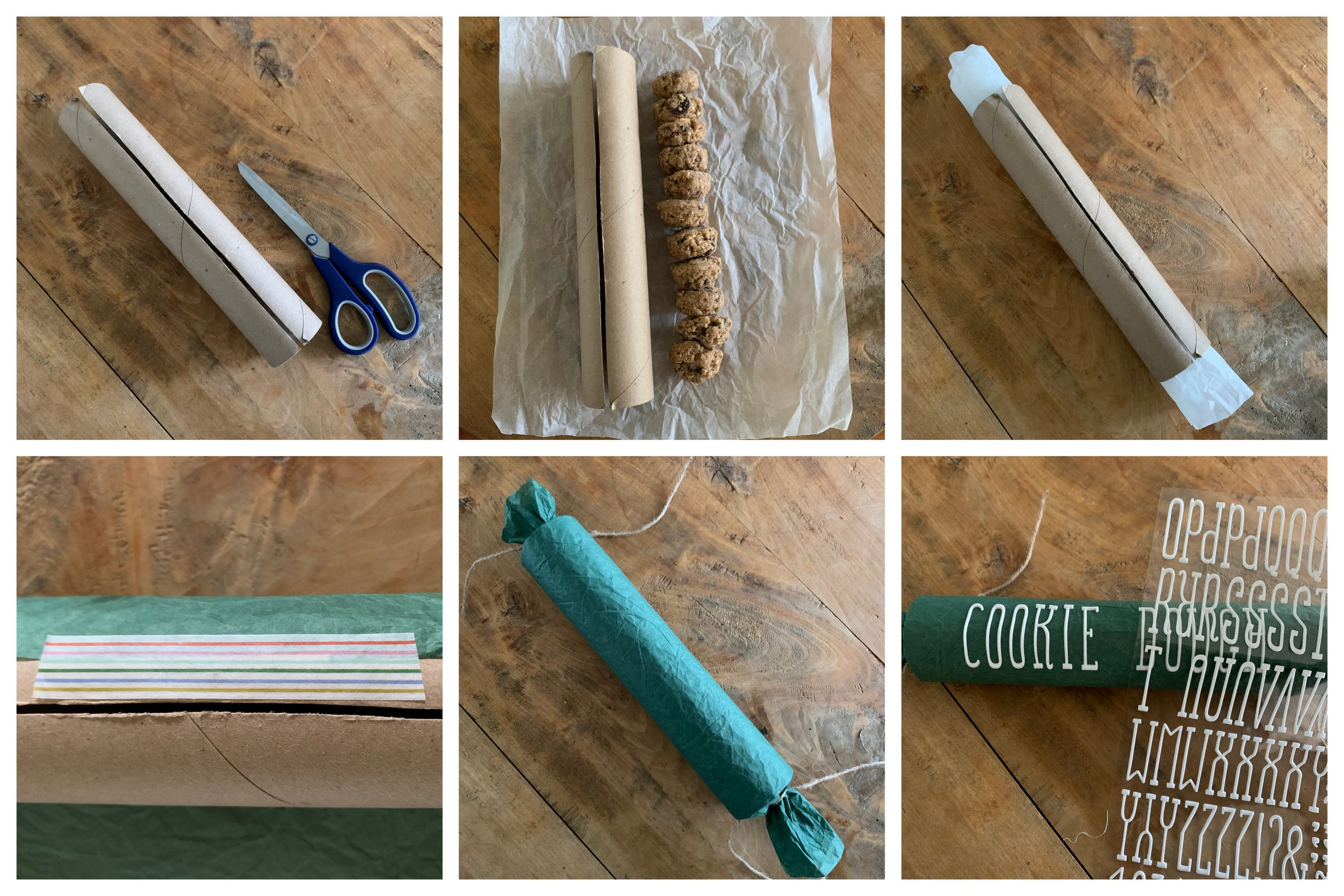 homemade frozen cookie dough (guy gift idea!)