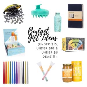 budget gift ideas!
