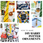 DIY harry potter ornaments