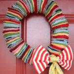 felted wool wreath