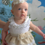 baby couture ruffle dress