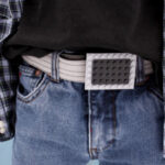 DIY lego belt buckle