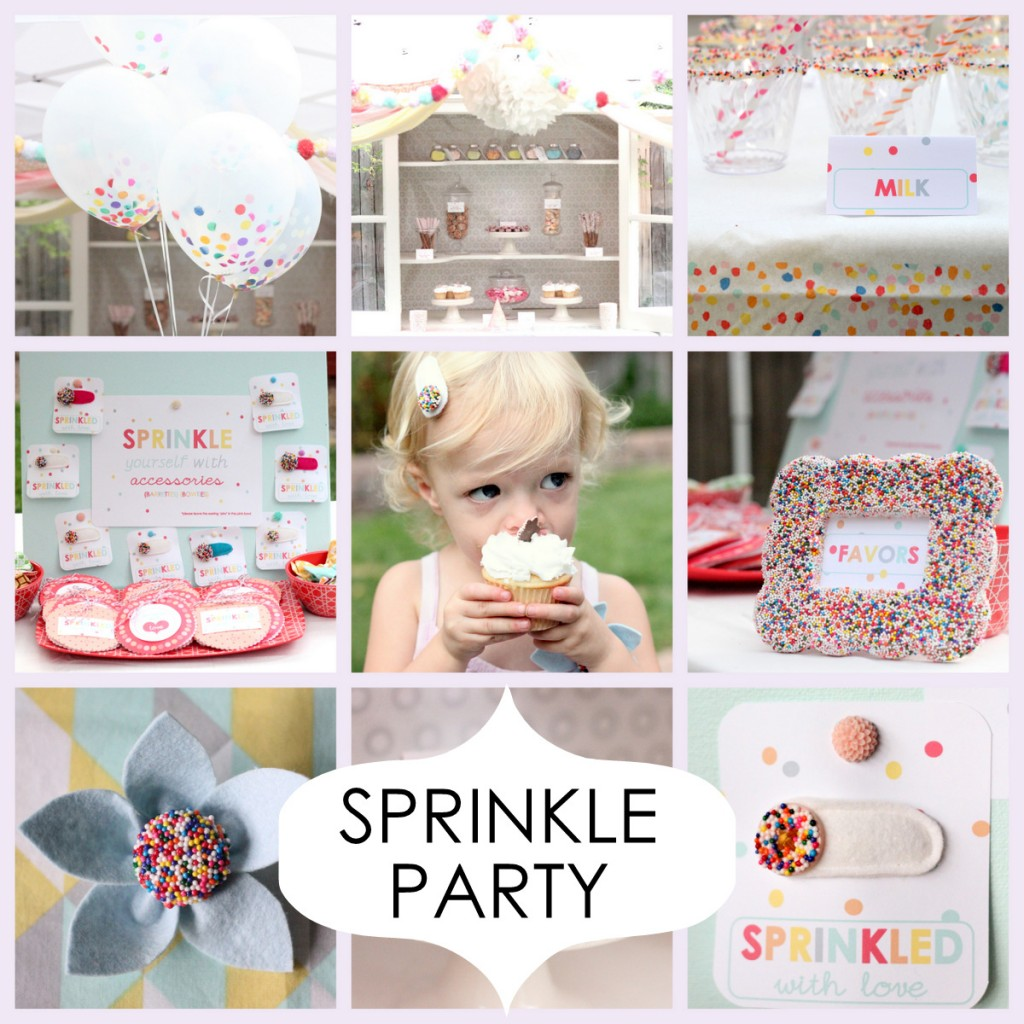 sprinkled with love birthday party